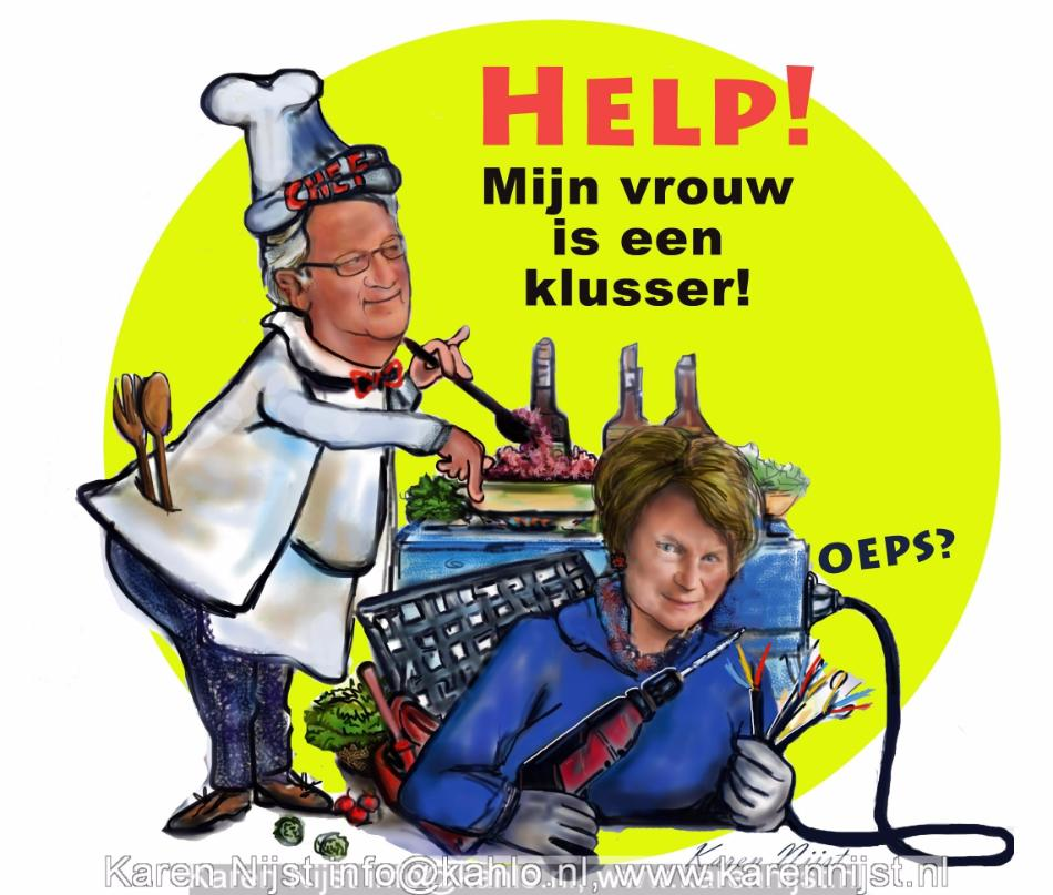 Pap en mam, cartoon